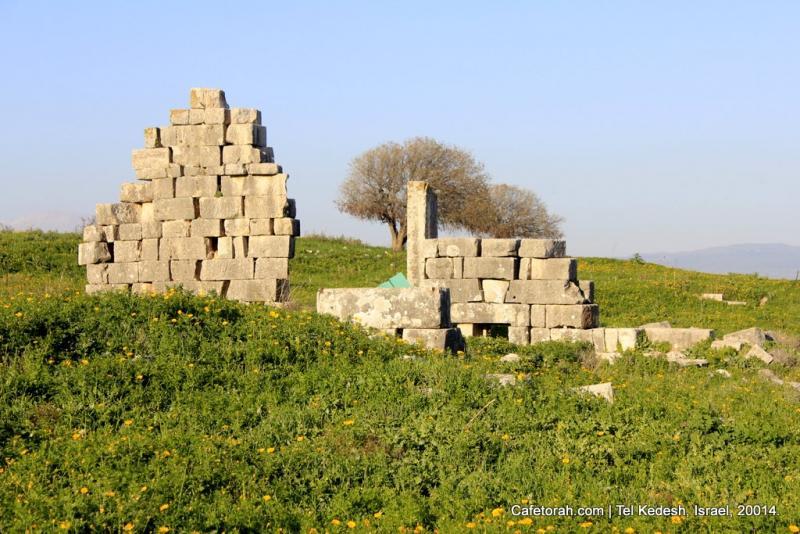 Tel Kedesh, Cades, Ramat Naftali, Naftali, Upper Galilee 050