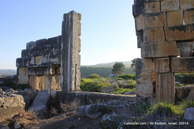 Tel Kedesh, Cades, Ramat Naftali, Naftali, Upper Galilee 063