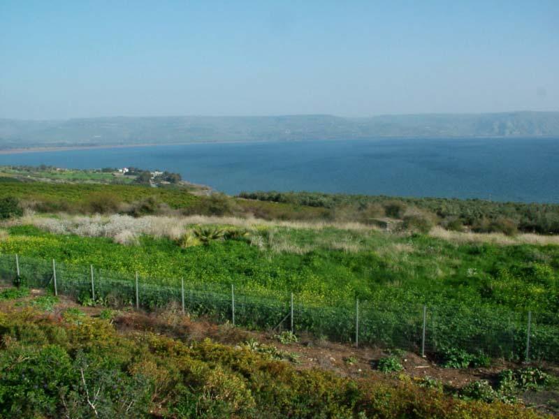O Mar da Galileia