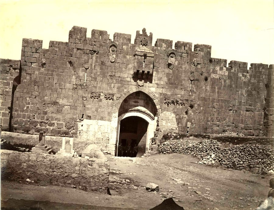 st-stephens-gate-jerusalem-circa-1870