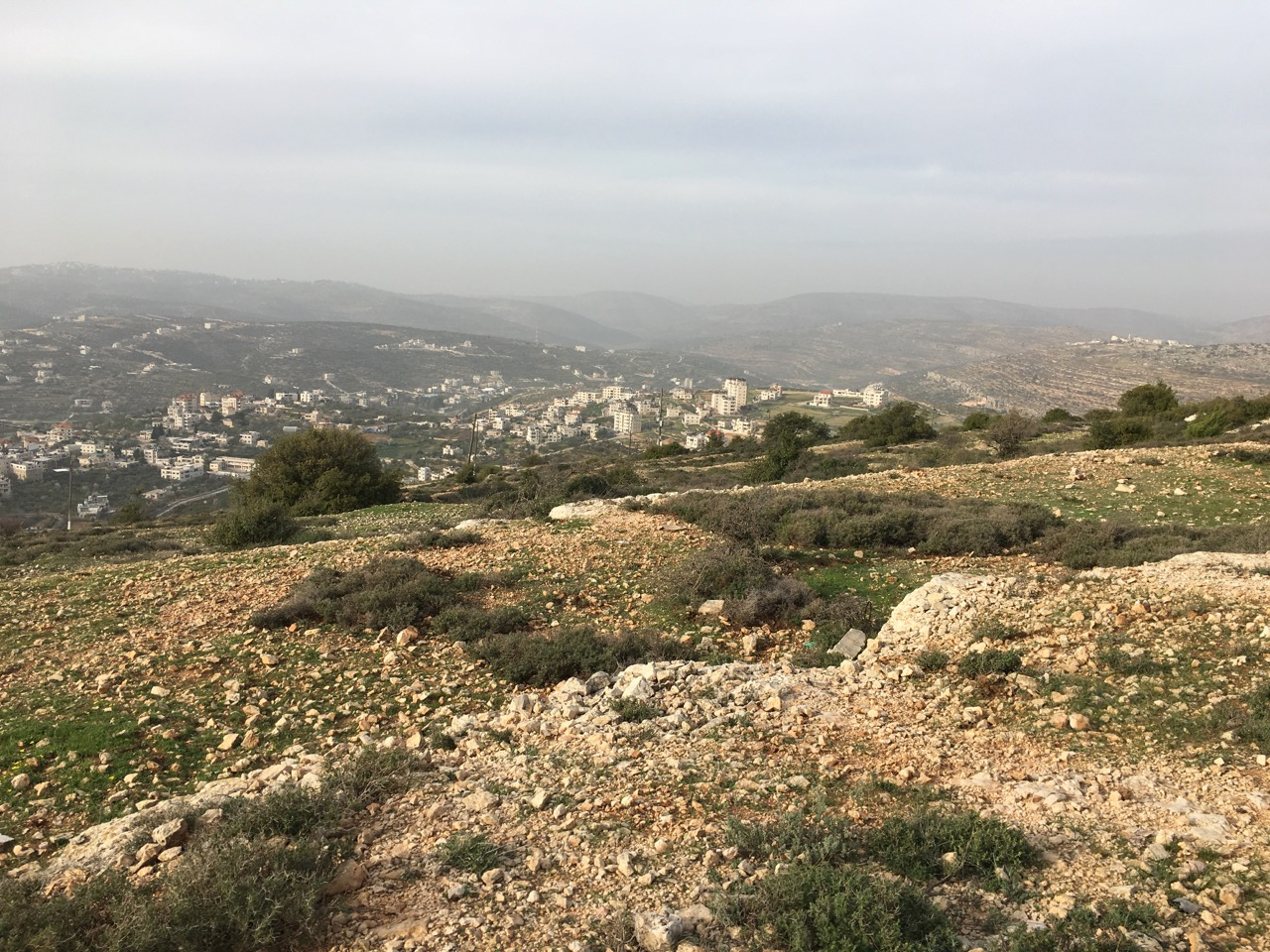 Vilarejos árabes na Samaria em torno de Betel